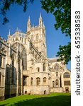 view of gloucester cathedral... | Shutterstock . vector #655338583
