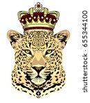 Portrait Of A Spotty Jaguar...