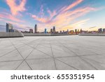shanghai cityscape and urban... | Shutterstock . vector #655351954