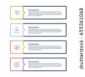 vector info graphics for your...   Shutterstock .eps vector #655361068
