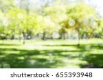 defocused bokeh background of... | Shutterstock . vector #655393948