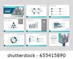 layout brochure design ... | Shutterstock .eps vector #655415890