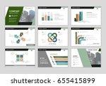 infographic brochure elements...   Shutterstock .eps vector #655415899