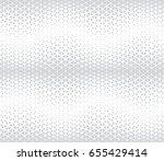 geometric halftone gradient... | Shutterstock .eps vector #655429414