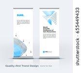 abstract business vector set of ... | Shutterstock .eps vector #655449433