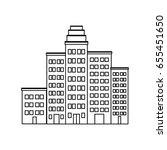 cartoon cityscape cartoon row