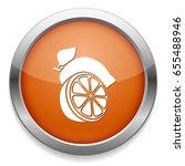 green lemon icon | Shutterstock .eps vector #655488946