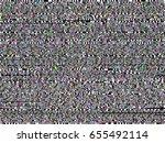 glitch background. computer... | Shutterstock .eps vector #655492114