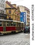 prague czech republic october... | Shutterstock . vector #655498258
