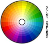 color wheel with 192 patterns.
