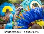 group of dancers wearing... | Shutterstock . vector #655501243