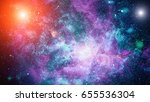 galaxy   elements of this image ... | Shutterstock . vector #655536304