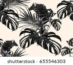 beautiful seamless vector... | Shutterstock .eps vector #655546303