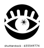 eye view symbol icon