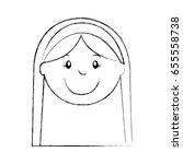 mary virgin manger character   Shutterstock .eps vector #655558738
