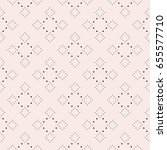 subtle dotted seamless pattern  ... | Shutterstock .eps vector #655577710