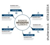 business key infographics... | Shutterstock .eps vector #655610014