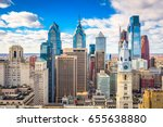 philadelphia  pennsylvania  usa ... | Shutterstock . vector #655638880