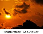 sunrise images from singapore | Shutterstock . vector #655646929