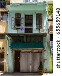 Small photo of An old traditional style residential building on Shepard st, Tia Hang, Hong Kong Island. Dated 5th June 2017