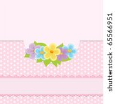 blank background for greetings... | Shutterstock . vector #65566951