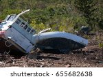 Small photo of marooned at Airlie Beach, Australia after Cyclone Debbie