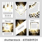 abstract vector layout... | Shutterstock .eps vector #655684924