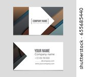 abstract vector layout... | Shutterstock .eps vector #655685440