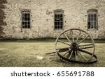 michigan ghost town. side view... | Shutterstock . vector #655691788
