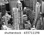 building from the top view | Shutterstock . vector #655711198