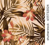 Seamless Pattern With Exotic...