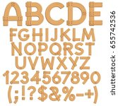 Alphabet  Letters  Numbers And...