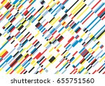 background of line segments ... | Shutterstock .eps vector #655751560