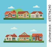House Icon Scene  Flat  Eps 8 ...
