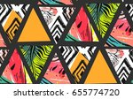hand drawn vector abstract... | Shutterstock .eps vector #655774720