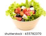 fresh salad   Shutterstock . vector #655782370