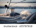 Windlass And Mooring Ropes On ...