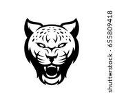 Cheetah Head Wild Mascot Head...