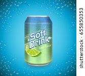 soft drink package design ... | Shutterstock .eps vector #655850353