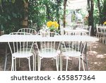 vintage style cafe or... | Shutterstock . vector #655857364