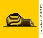 buildings icons vector | Shutterstock .eps vector #655885198