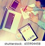 start up ideas innovation... | Shutterstock . vector #655904458