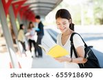 asia education  campus ... | Shutterstock . vector #655918690