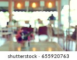 blurred cafe coffee shop... | Shutterstock . vector #655920763