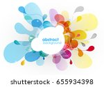 abstract colored background... | Shutterstock .eps vector #655934398