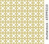 gold art deco seamless... | Shutterstock .eps vector #655993210