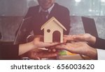 housing company good teamwork | Shutterstock . vector #656003620