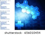 2d medical structure background | Shutterstock . vector #656010454