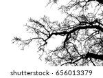 Realistic Tree Silhouette ...
