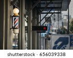 main street barbershop | Shutterstock . vector #656039338